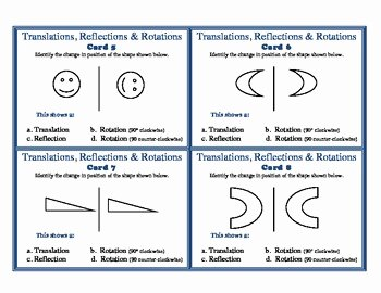Translations Reflections and Rotations Worksheet Lovely Translations Reflections Ro by Vthompson