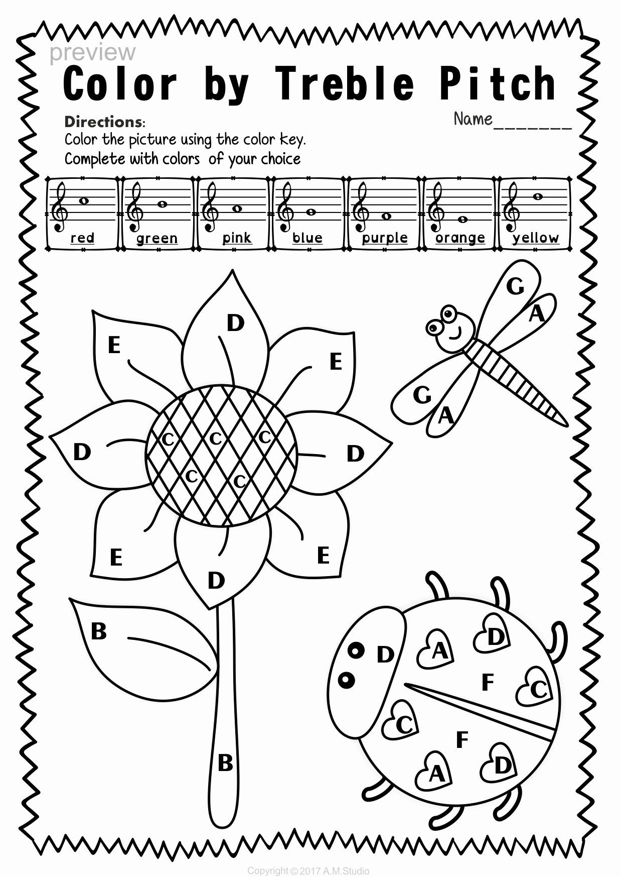 Treble Clef Note Worksheet Beautiful Treble Clef Note Naming Worksheets for Spring9