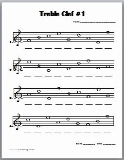 Treble Clef Note Worksheet Best Of Treble Clef Note Names Worksheet Secretlinkbuilding