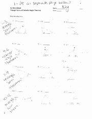 Triangle Angle Sum Worksheet Answers Fresh Triangle Sum and Exterior Angle theorem Worksheet with Key