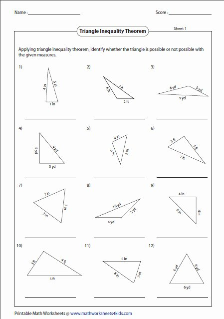 Triangle Angle Sum Worksheet Answers New Homesignllections 4you Triangle Sum theorem