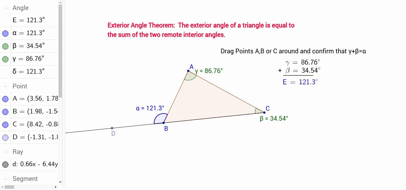 Triangle Angle Sum Worksheet Answers New Triangle Sum and Exterior Angle theorem Worksheet