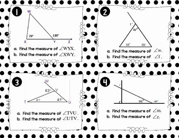 Triangle Angle Sum Worksheet Beautiful Worksheet Triangle Sum and Exterior Angle theorem Answer