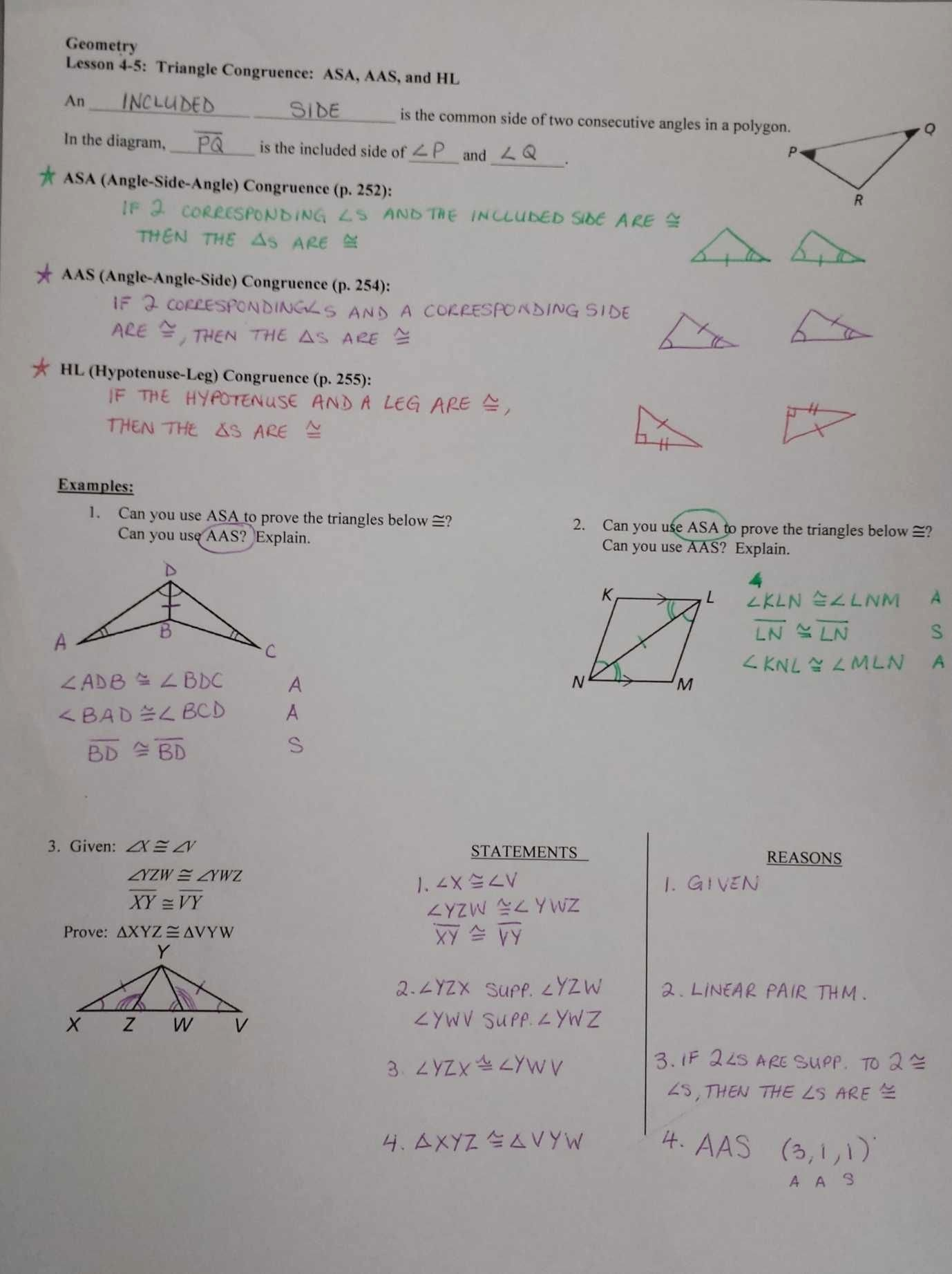 Triangle Congruence Proof Worksheet New 2 8b Angles Triangles Worksheet Answers