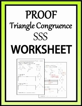 Triangle Congruence Proof Worksheet Unique 1000 Images About E Dollar Treasures On Pinterest