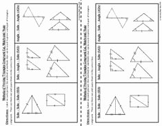Triangle Congruence Worksheet Answer Key Awesome Triangle Congruence Worksheet Fall 2010 with Answer Key