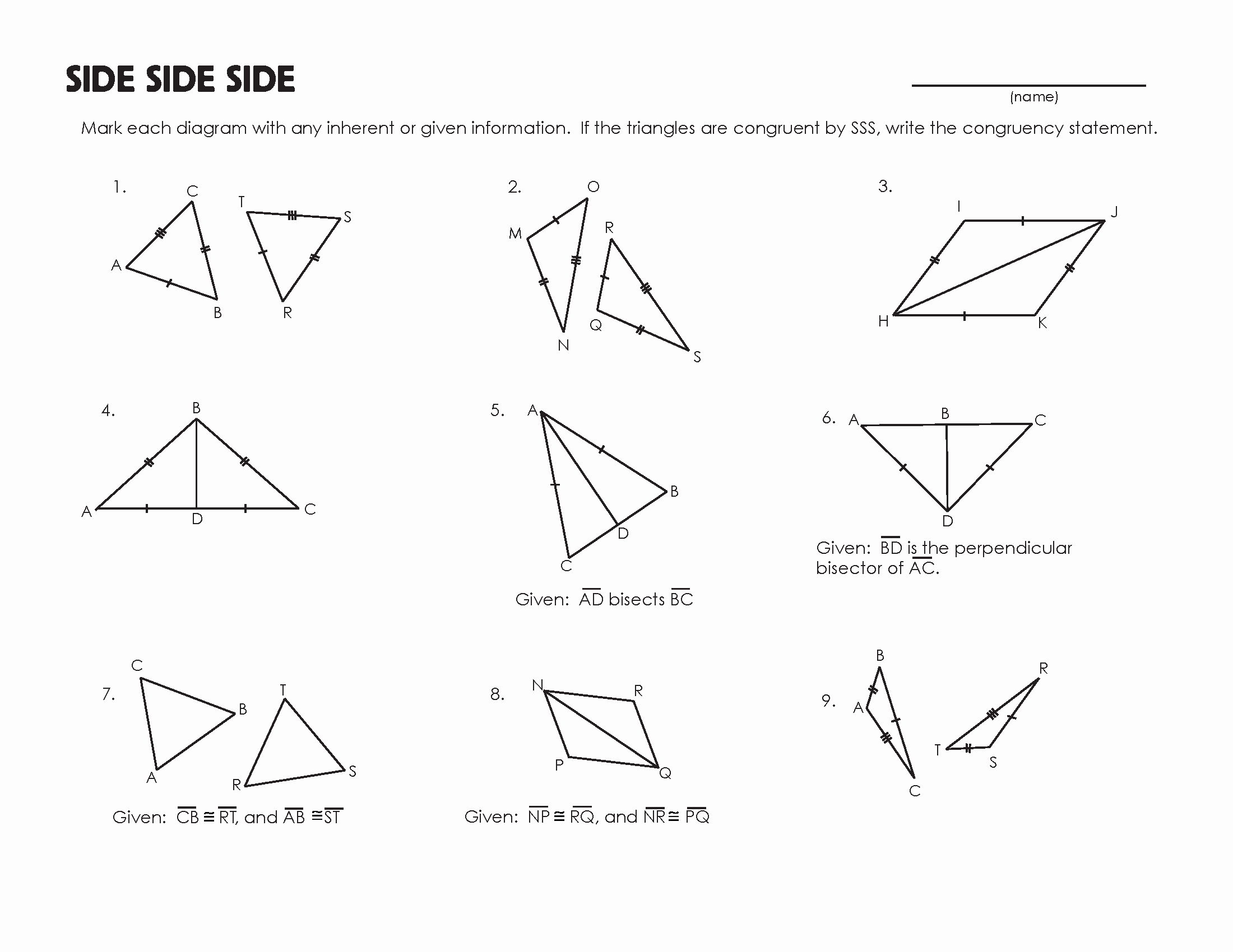Triangle Congruence Worksheet Answer Key Best Of Bc Ad Timeline Worksheet