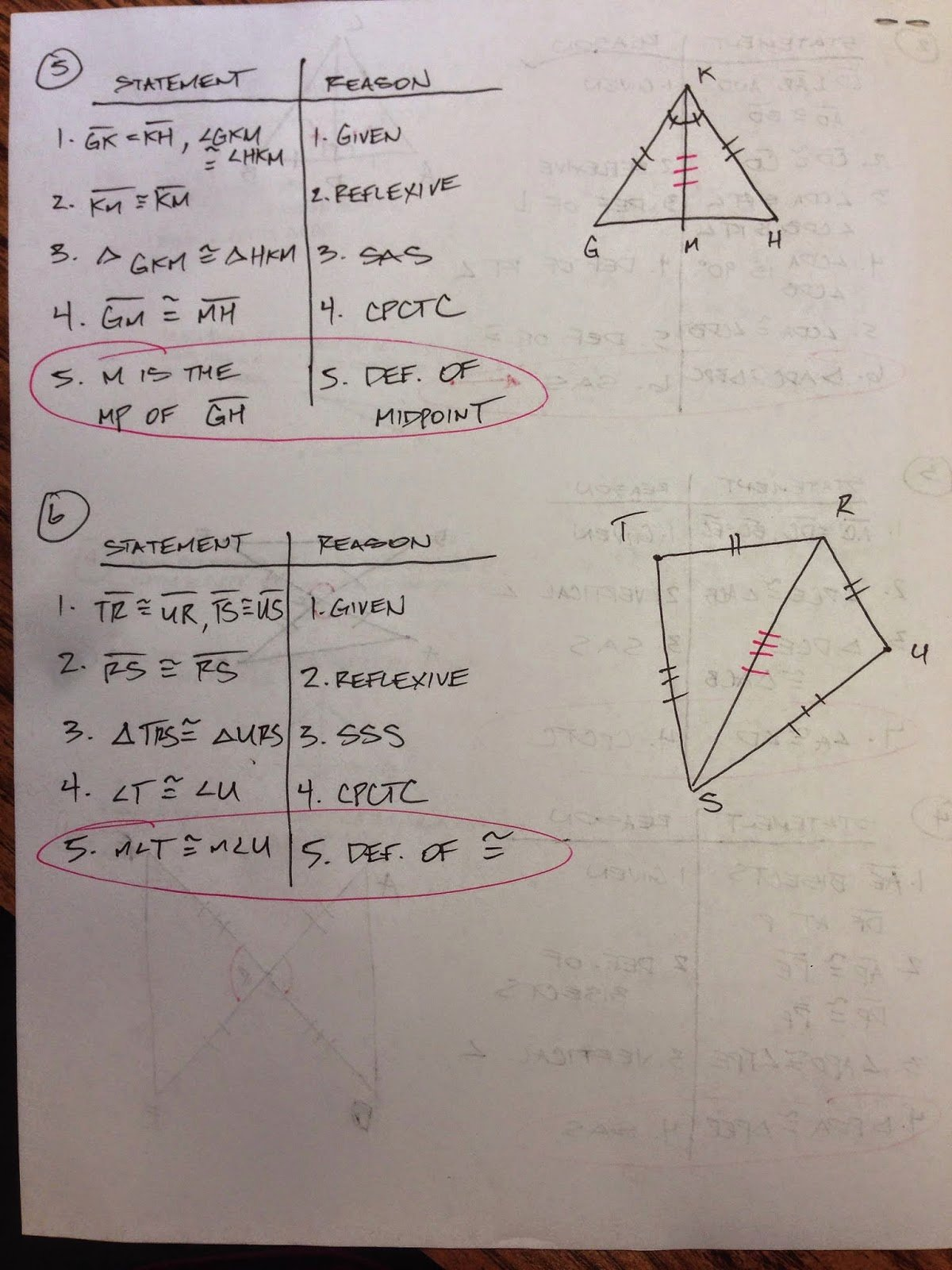 Triangle Congruence Worksheet Answer Key Luxury Using Congruent Triangles Cpctc Worksheet 4 4