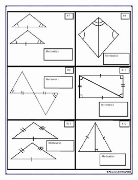 Triangle Congruence Worksheet Pdf Awesome Congruent Triangles Proving Triangles Vocabulary Cut