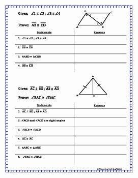 Triangle Congruence Worksheet Pdf Elegant Congruent Triangles Proving Triangles Congruent Missing