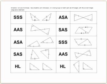 Triangle Congruence Worksheet Pdf Elegant Triangle Congruence Worksheet Google Search