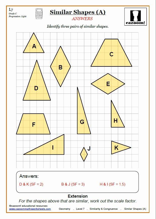 Triangle Congruence Worksheet Pdf Fresh Congruence and Similarity Worksheets