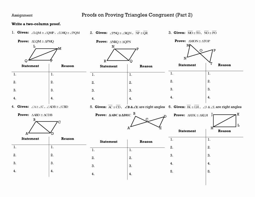 Triangle Congruence Worksheet Pdf Fresh Triangle Congruence Worksheet Answers
