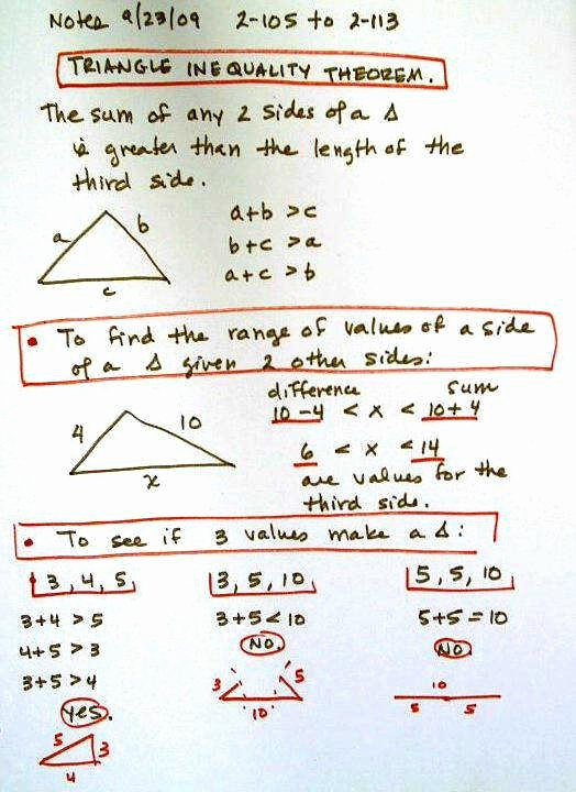 Triangle Inequality theorem Worksheet Lovely Triangle Inequality Worksheet