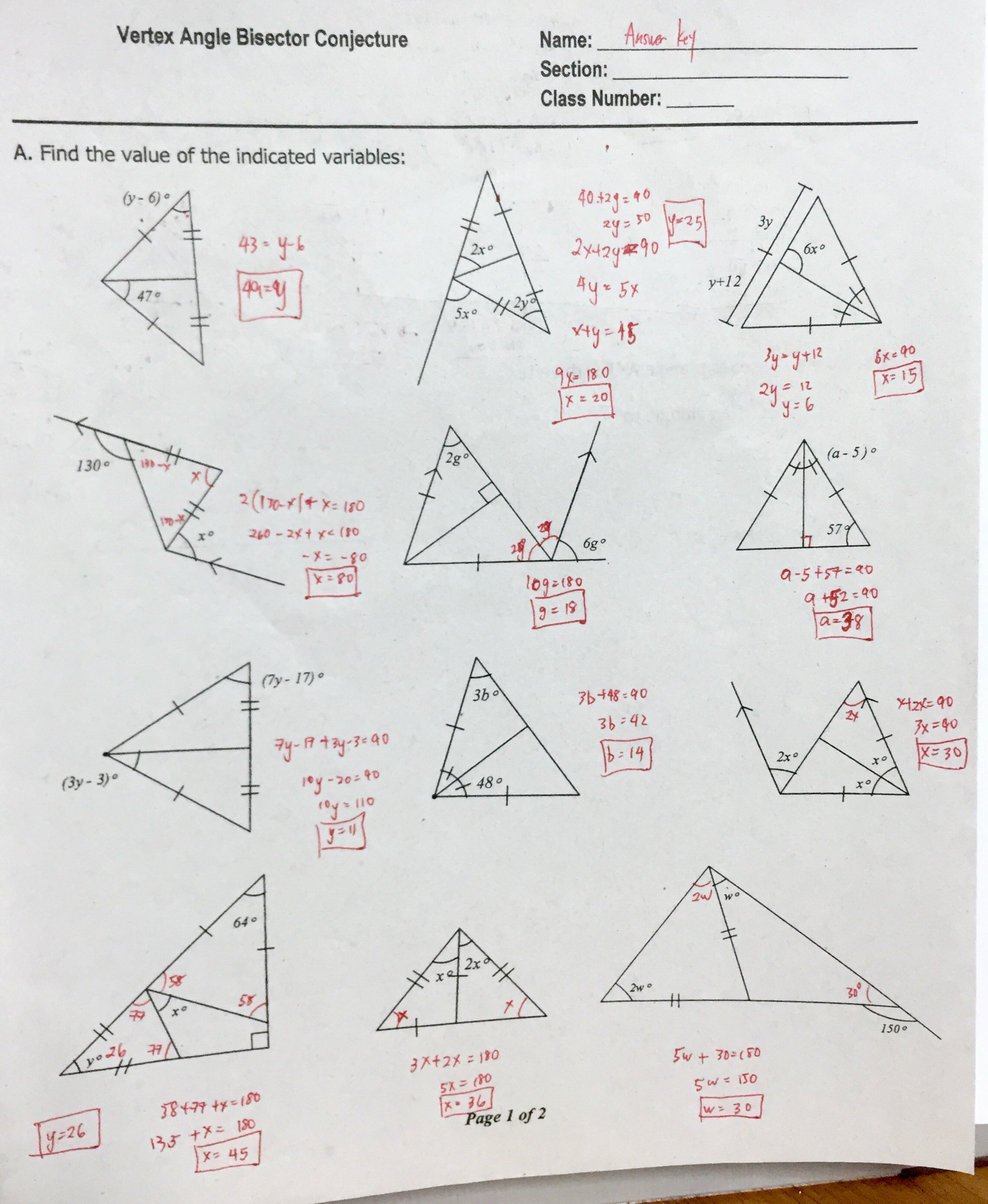 Triangle Interior Angles Worksheet Answers Fresh Worksheet Sum Angles In A Triangle Worksheet Grass