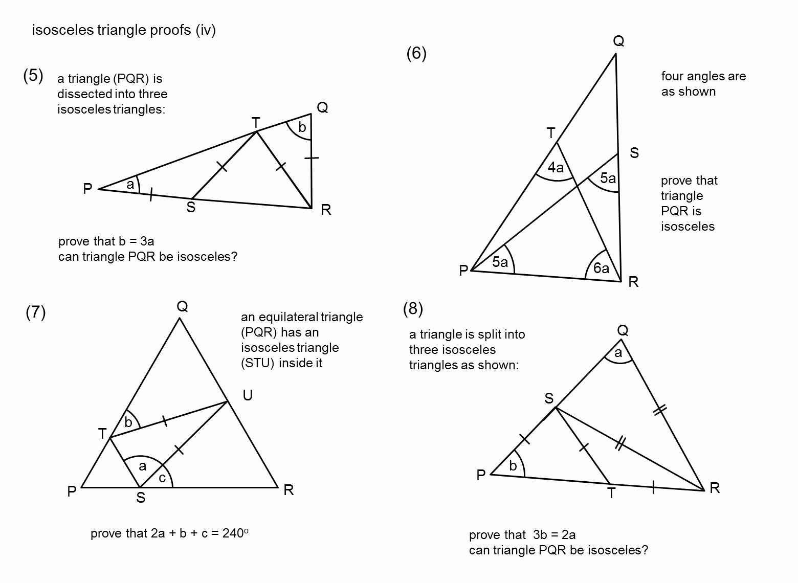 Triangle Proofs Worksheet Answers Awesome Median Don Steward Mathematics Teaching isosceles Triangles