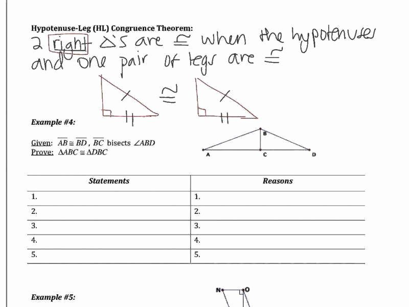 Triangle Proofs Worksheet Answers New Triangle Congruence Worksheet Answers