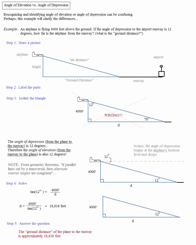 Trig Word Problems Worksheet Answers New Trig Word Problems Worksheet Answers