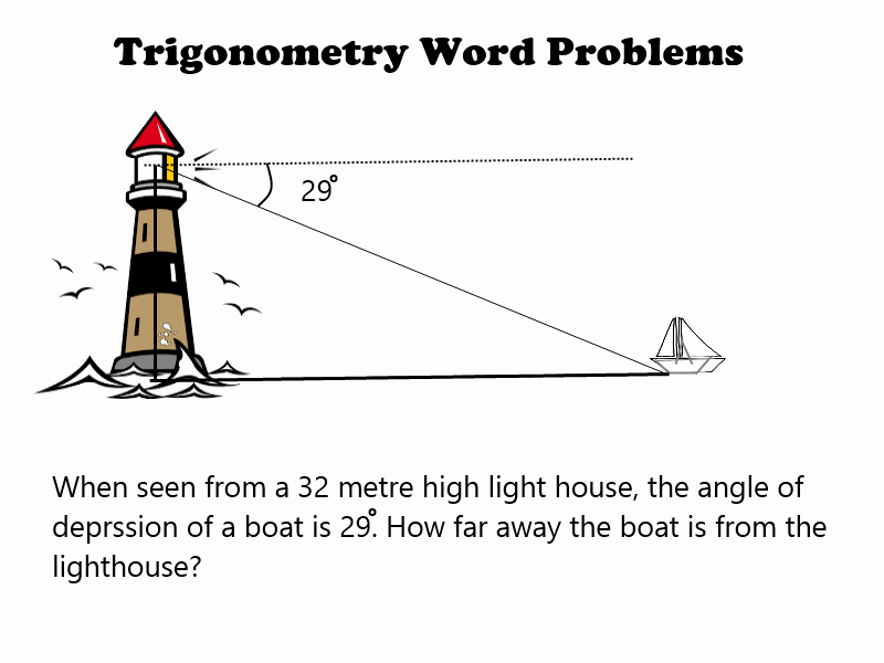 Trig Word Problems Worksheet Inspirational Trigonometry Word Problem — Steemit