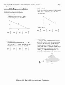 Trigonometric Ratios Worksheet Answers Awesome Trigonometric Ratios Worksheet for 10th Grade