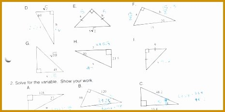 Trigonometric Ratios Worksheet Answers Beautiful 4 Worksheet Trigonometric Ratios sohcahtoa Answers