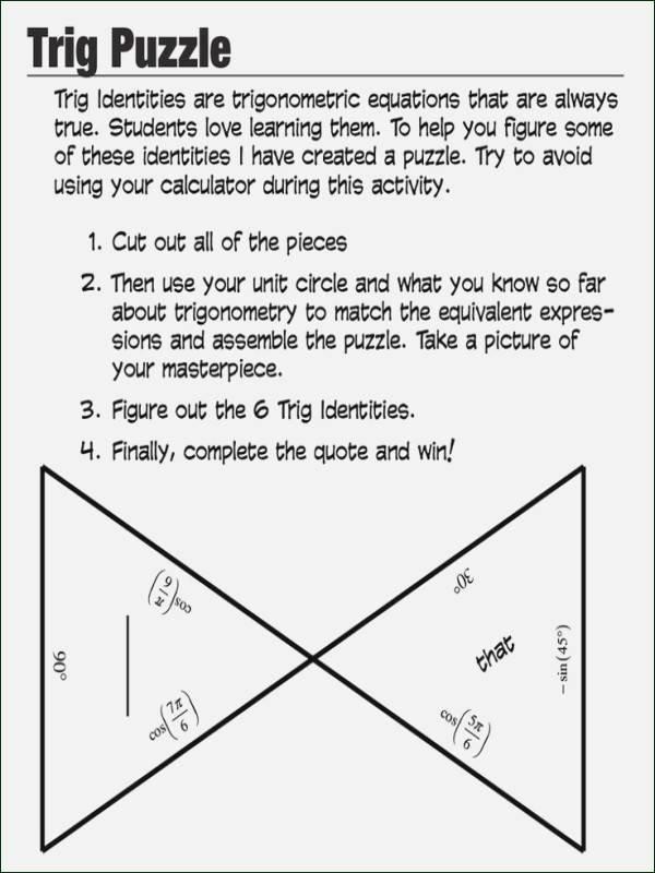 Trigonometric Ratios Worksheet Answers Elegant Trigonometric Ratios Worksheet Answers