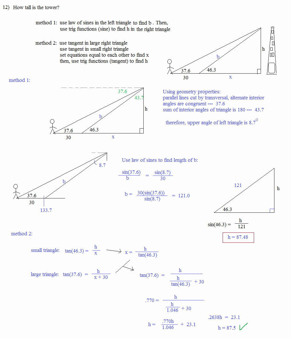 Trigonometric Ratios Worksheet Answers Fresh Law Sines Cosines Worksheet