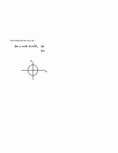 Trigonometry Unit Circle Worksheet Answers Best Of Sin Cos Tan Worksheet Generator with Answers by Uk