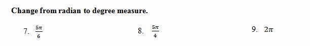 Trigonometry Unit Circle Worksheet Answers Inspirational Unit Circle Worksheet with Answers Find Angle Based On