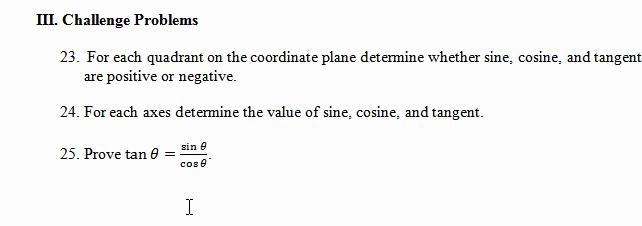 Trigonometry Unit Circle Worksheet Answers Lovely Unit Circle Worksheet with Answers Find Angle Based On