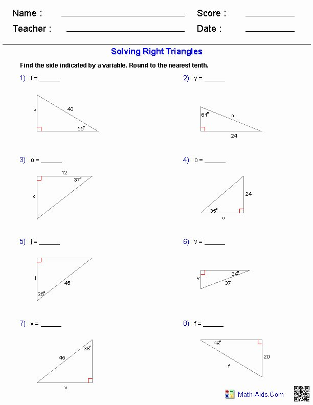 Trigonometry Word Problems Worksheet Answers Elegant Trig Word Problems Worksheet