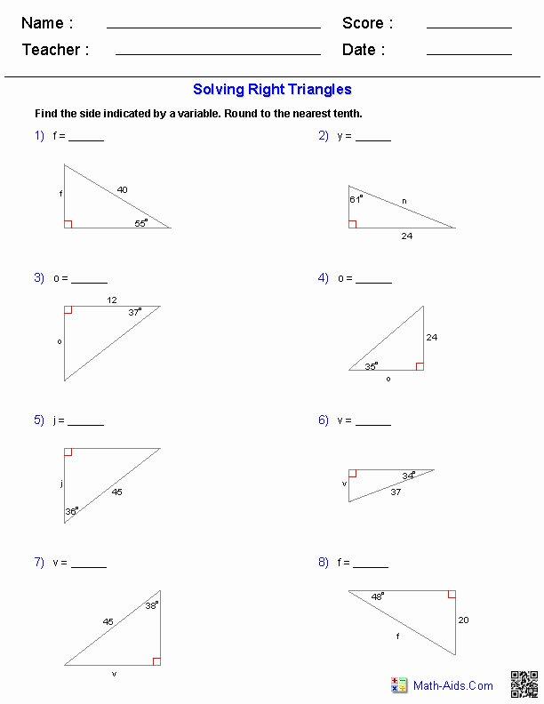Trigonometry Word Problems Worksheet Answers Elegant Trig Word Problems Worksheet