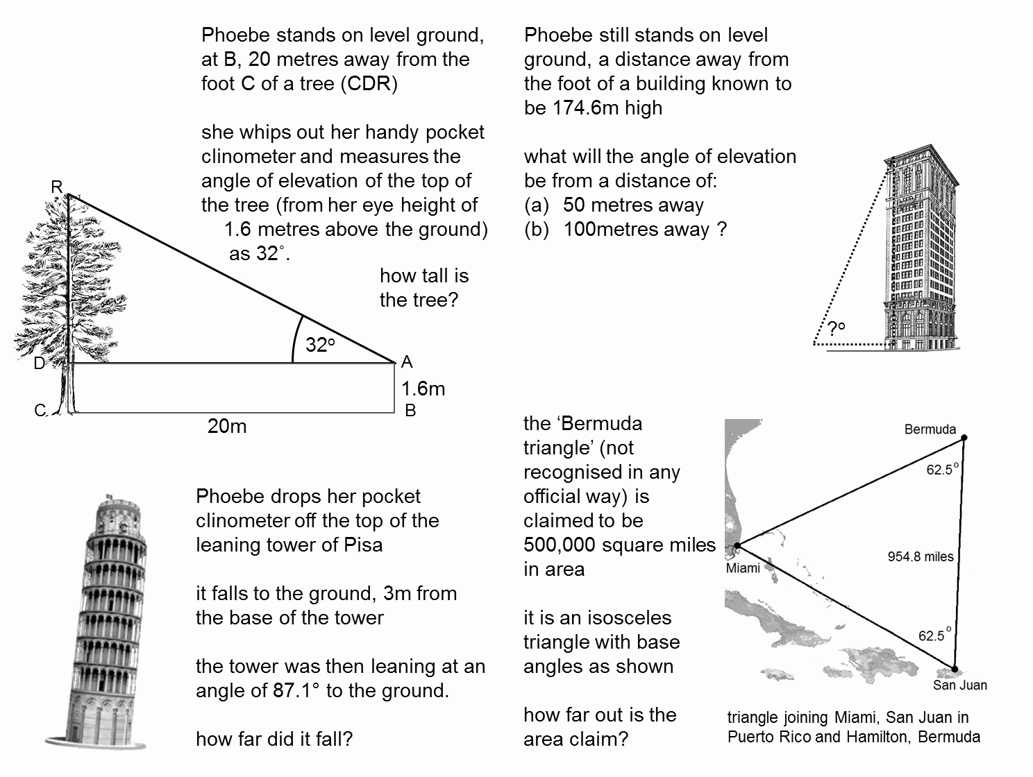 Trigonometry Word Problems Worksheet Answers Luxury Median Don Steward Mathematics Teaching Trigonometry