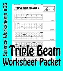 Triple Beam Balance Practice Worksheet Elegant Science Basics Reading A Triple Beam Balance Worksheet
