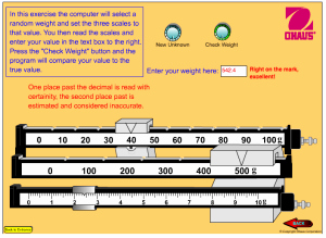 Triple Beam Balance Practice Worksheet Lovely Reading A Triple Beam Balance Updated – Middle School
