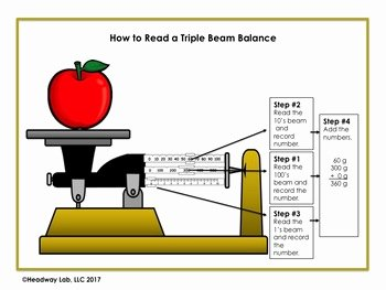 Triple Beam Balance Practice Worksheet Luxury Practice Reading A Triple Beam Balance to Determine Mass