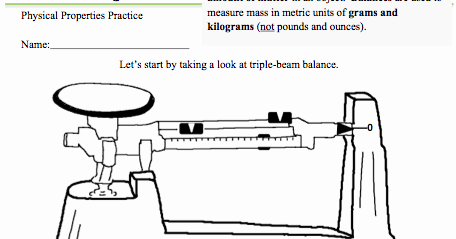 Triple Beam Balance Worksheet Awesome Kate S Science Classroom Cafe Measuring Mass Worksheet