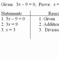 Two Column Proof Worksheet Lovely Algebraic Proof Tutorial