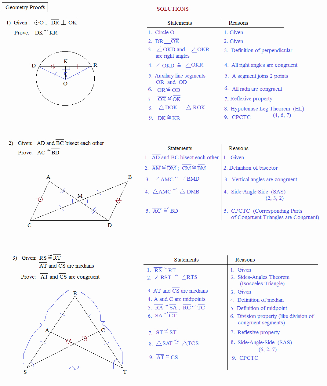 Two Column Proof Worksheet Luxury Geometry Worksheet 2 6 Geometry Proofs Answers