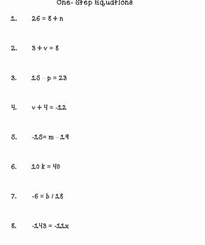 Two Step Equation Worksheet Awesome E and Two Step Equations Worksheets by Brianna Kelly