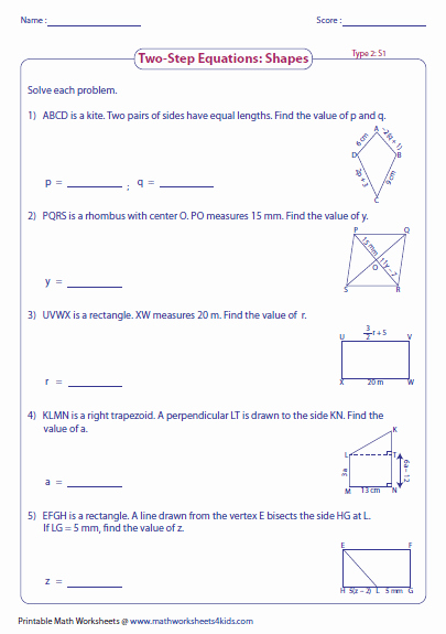 Two Step Equation Worksheet Unique Two Step Equation Worksheets
