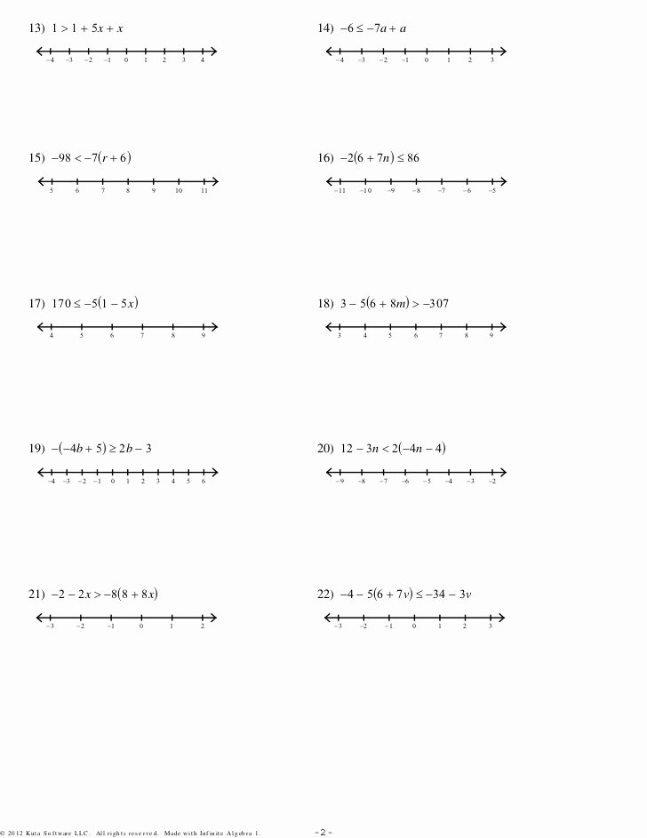 Two Step Equations Worksheet Pdf Awesome Multistep Equations and Inequalities 3sets Pdf