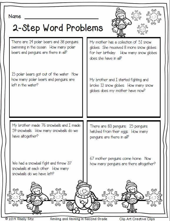 Two Step Word Problems Worksheet New 14 Best 2nd Grade Multistep Word Problems Images On