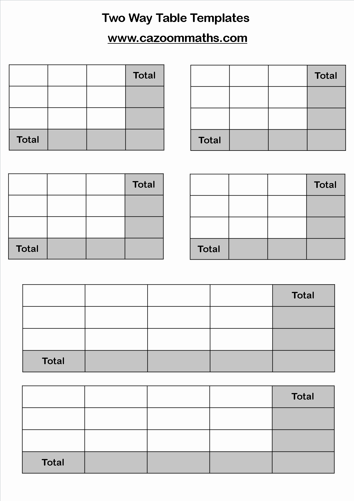 Two Way Frequency Tables Worksheet Inspirational Two Way Tables and Pictograms