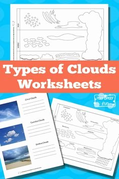Types Of Clouds Worksheet Awesome Layers Of the atmosphere Worksheet