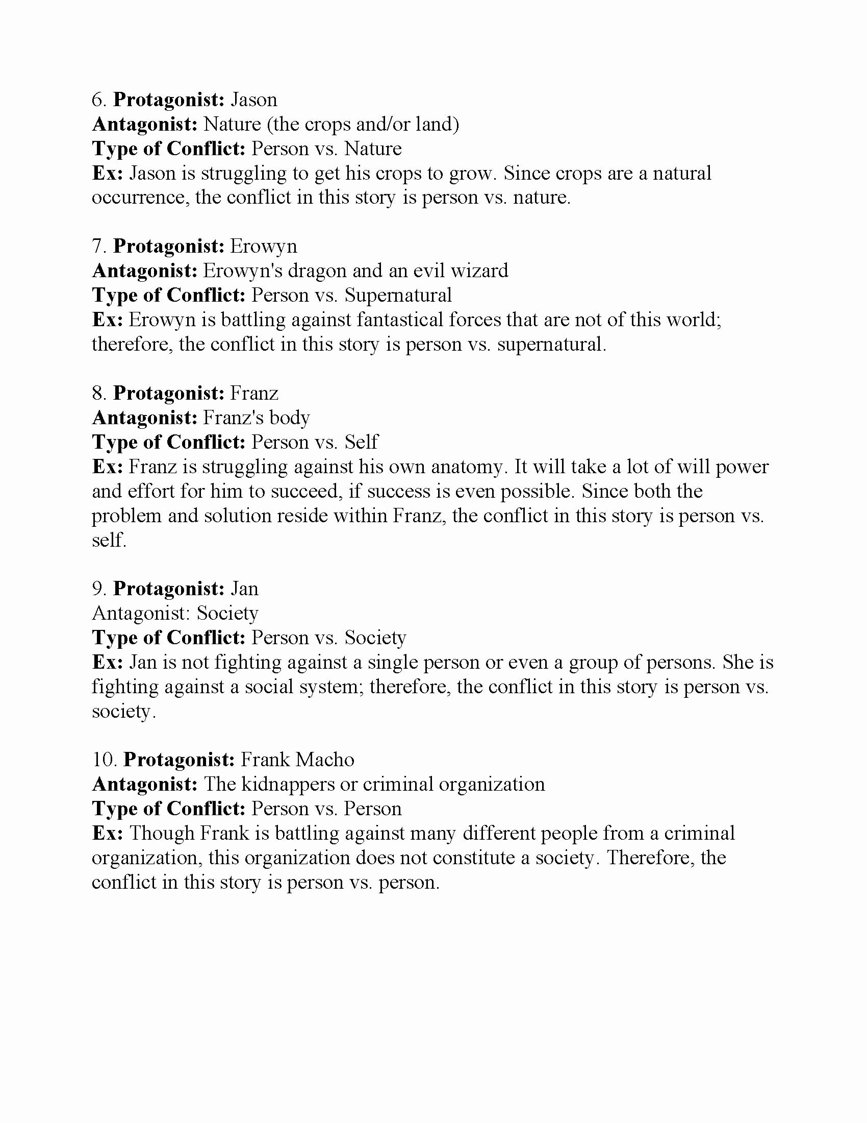 Types Of Conflict Worksheet Elegant What are the Different Kinds Of Conflict 3 Types Of