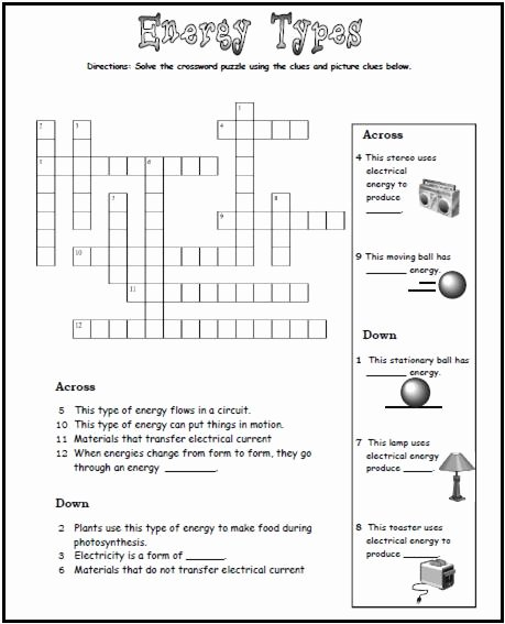 Types Of Energy Worksheet New Energy Transfer Worksheets Middle School 1000 Ideas