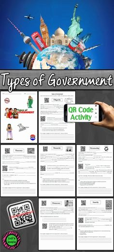 Types Of Government Worksheet Answers Awesome Types Of Government Chart by