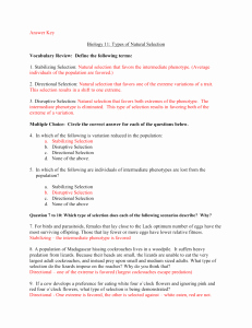 Types Of Natural Selection Worksheet Inspirational Patterns & Mechanisms Of Evolution
