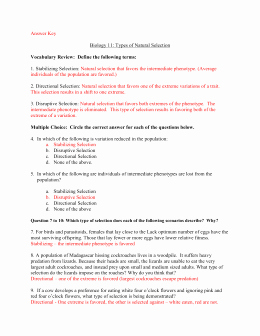 Types Of Natural Selection Worksheet Lovely Patterns & Mechanisms Of Evolution